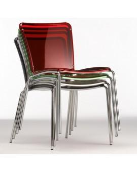 Chaise en plexiglas TROY