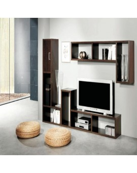 Bibliothèque / Meuble TV GOLD