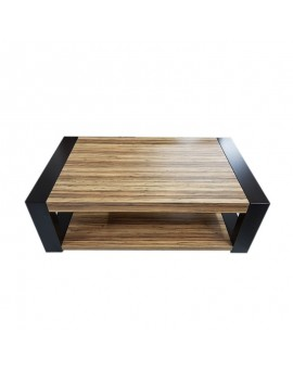 Table basse SPRING ( noyé et wengé showroom)