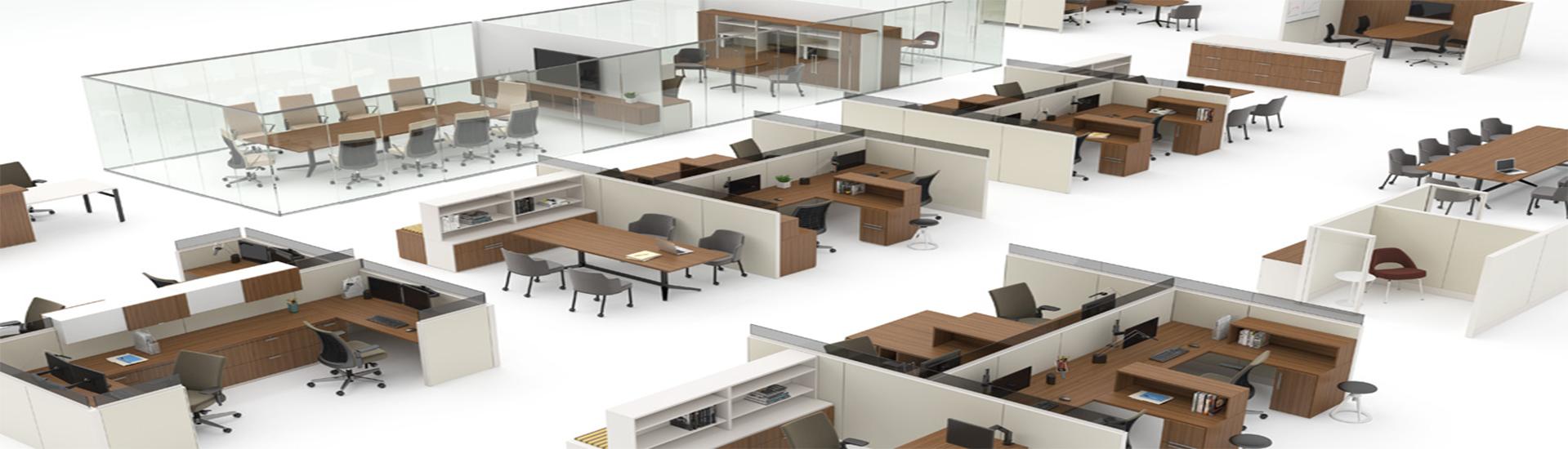 Cloisons de bureau pour séparation d'espace de travail